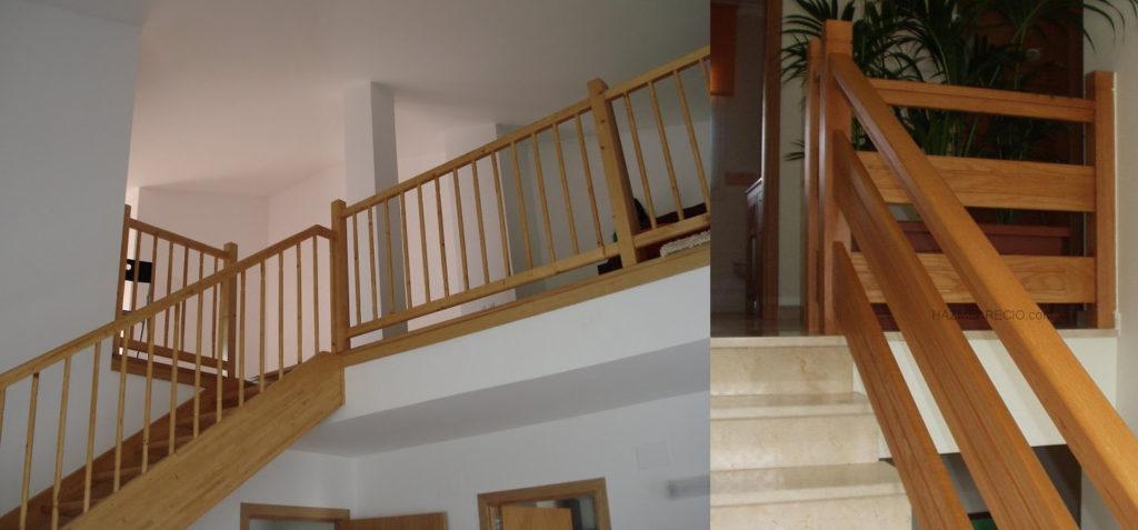 Escaleras con pasamanos de cristal escaleras con - Pasamanos de madera para escaleras ...