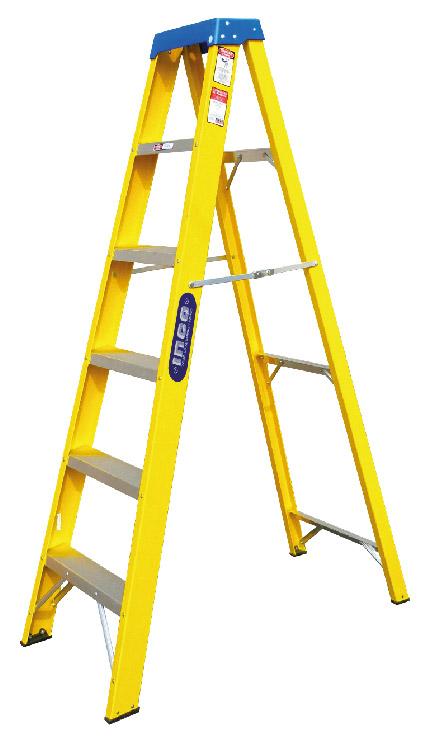 Escaleras de aluminio escaleras de fibra de vidrio inco for Escaleras fibra